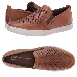 ECCO® Collin 2.0 Perforated Slip-On Sneaker Sz 11